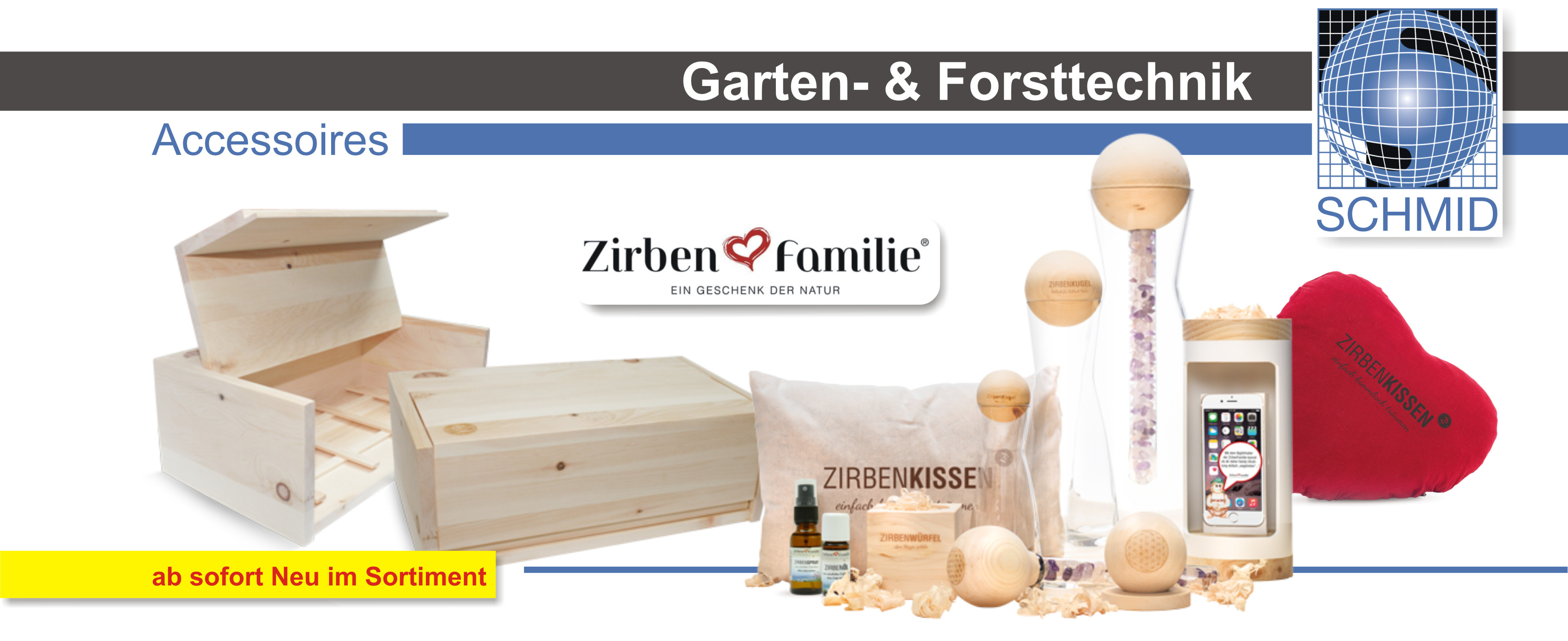 Schmid Vertriebs GmbH Zirben Familie